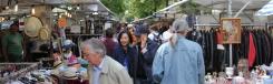 Rommel- en kunstmarkt op de Straße des 17. Juni