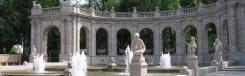 Märchenbrunnen, sprookjesfontein in het park