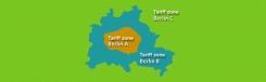 Zones en kaartjes voor het openbaar vervoer
