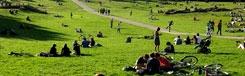 Parken en tuinen in Berlijn