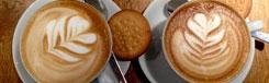 Koffie en gebak in Berlijn