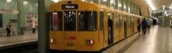 De metro (U-Bahn) in Berlijn